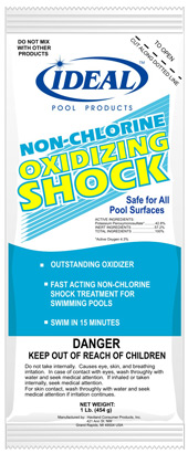Non chlorine shock potassium monopersulfate the pool - How soon can you swim after shocking pool ...